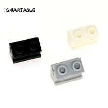 Smartable петля кирпич 1x2 основание + верхняя пластина тонкие