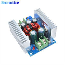 DC Buck Converter Step Down Module 300W 20A Constant Current LED Driver Power Voltage Board Heat Sink Short Circuit Protection