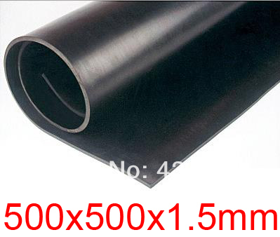 1 5mm thickness Fluorine FKM sheet Acid and alkali resistant rubber plate 500x500x1 5mm Viton fluororubber