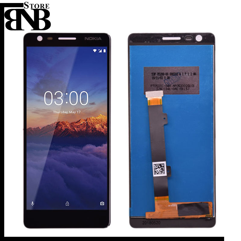 Original For Nokia 3.1 LCD Display With Touch Screen Assembly Replacement For Nokia 3.1  TA-1049 TA-1057 TA-1063 TA-1070 Screen
