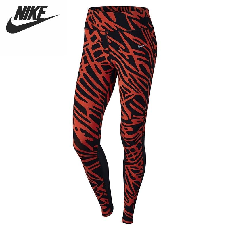 Original NIKE Tight Women's Running Pants Sportswear брюки accelerate tight
