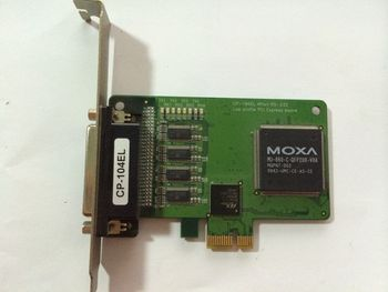For MOXA CP-104EL PCI Express Mossa CP-114s 4-port Industrial RS-422 RS-485 Multi-port Used Tear down Part