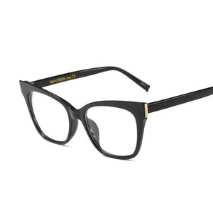 Image 4 - Hot women reading glasses retro big box square cat female fashion optical glasses frame high quality reading glasses NX