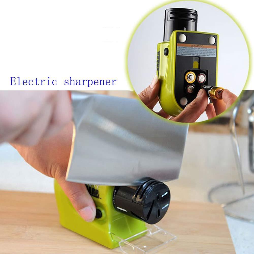 elektrische keramik messerschärfer wetzstein küche werkzeug schärfen