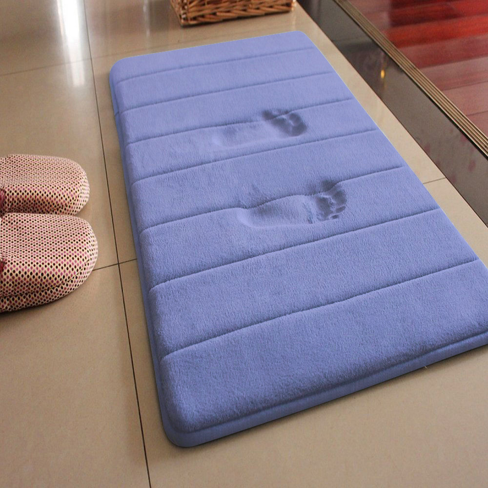 40*60cm Mat Bath For Bathroom Non Slip Memory Foam Rugs Carpet