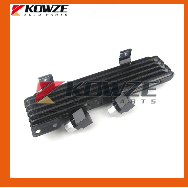ФОТО Auto Transfer Oil Cooler Transmission Gear BOX Radiator For Mitsubishi Pajero Montero Shogun 3 III 6G72 6G74 6G75 MR404903