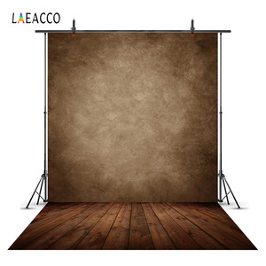Laeacco Grunge Gradient Wooden Floor Solid Vintage Portrait Photographic Backgrounds For Photography Backdrops For Photo Studio