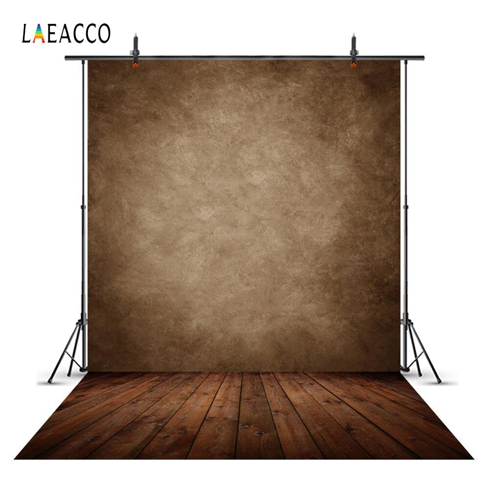 Laeacco Grunge Pared de color liso autorretrato boda fondo para fotografía personalizado fondo fotográfico para foto de fondo