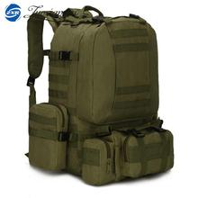 Military Backpack Big Bag Multifunction Travel Bag Set Rucksacks Men/Women Backpack 55L