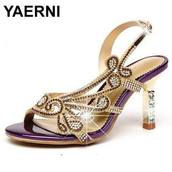 De Yaerni Verano 2018 Zapatos Mujeres Gladiador Sandalias Planas 2IEDHYW9