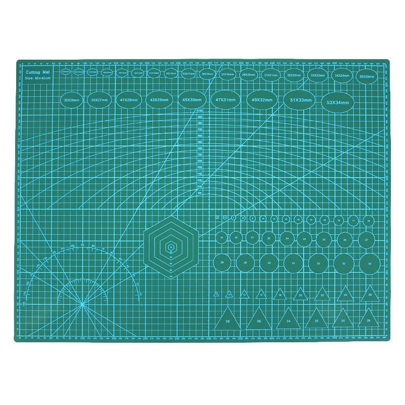 Tapete de Corte Ferramentas de Artesanato de Papel da Tela Duplo Impresso Auto Cura Ofício Estofando Scrapbooking Placa 60×45 cm Retalhos a2 Pvc Mod. 134916