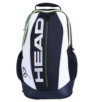 Head Professional Tennis Racket Bag Badminton Bagpack Multi purpose Backpack For 2 PCS Rackets Workout Sports Bolsa