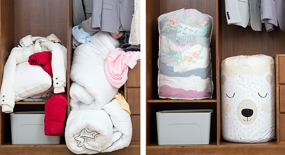 How to Fold Clothes and Save Space in Your Suitcase or Closet