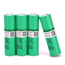 3.7V 2500mAh 18650 Rechargeable Li-ion Battery INR1865025R 20A discharge lithium batteries for electronic cigarette