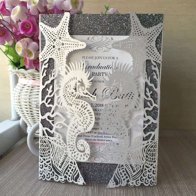 100pcs Pearl Paper Wedding Decoration Laser Cut Beautiful Pretty