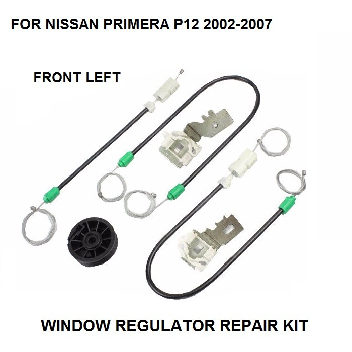 ELECTRIC WINDOW REGULATOR FOR NISSAN PRIMERA P12 FRONT-LEFT 2002-2007