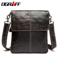 OGRAFF Men messenger bags business briefcase new  brand designer bags leather briefcase bags high quality laptop high quality