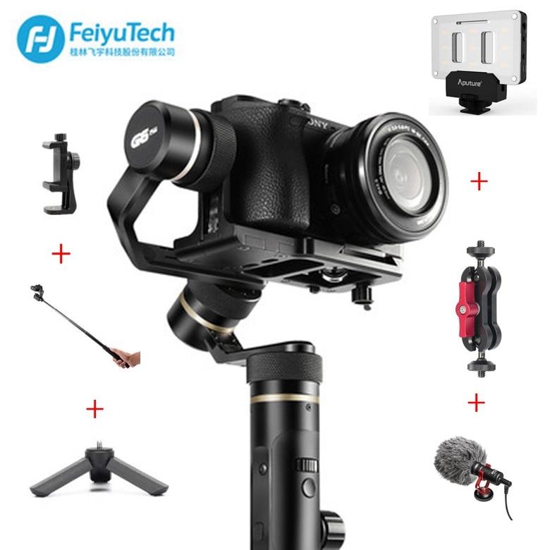 FeiyuTech Feiyu G6 Plus Résistant Aux Éclaboussures De Poche Cardan Stabilisateur pour Smartphone Gopro hero compacts sony as6000 noir