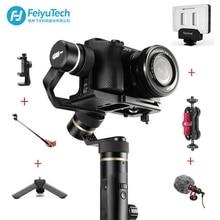 Feiyutech Feiyu G6 плюс брызг ручной Gimbal стабилизатор для смартфонов Gopro hero беззеркальных камер sony as6000 черный