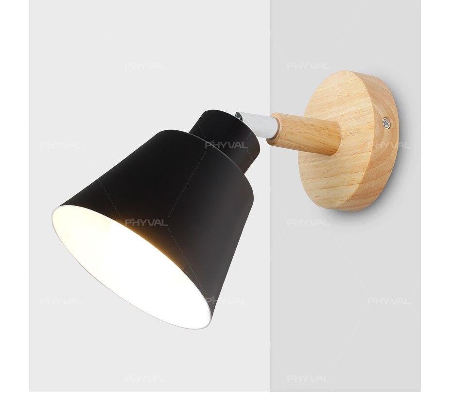moderno nórdico macaroon arandelas