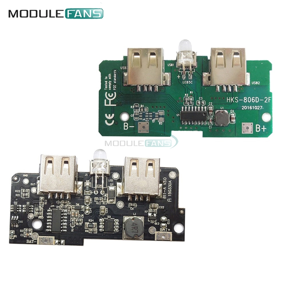 5v 1a 2a Power Bank Charger Module Step Up Boost Supply Smps Board Tablet Circuit Charging Pcb