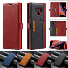 For Samsung Galaxy Note 9 Case Leather Vintage Phone On Flip Wallet Note9 Cover