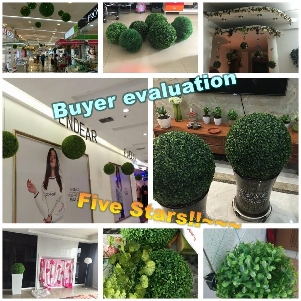 CAMMITEVER Grass Bonsai Жасанды Topiary 12/18/23/28 / 35cm - Мерекелік және кешкі заттар - фото 3