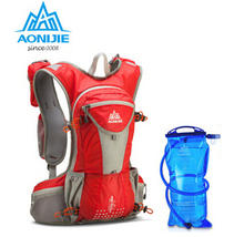 AONIJIE Outdoor Sports Marathon Backpack Shoulder Belt Bag For Biking Cycling Traveling Camping Hiking With 2L Water Bag