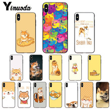Yinuoda Brushwood Doge Shiba Inu Customer High Quality Phone Case for Apple iPhone 8 7 6 6S Plus X XS MAX 5 5S SE XR Cover yinuoda demi lovato customer high quality phone case for apple iphone 8 7 6 6s plus x xs max 5 5s se xr mobile cover
