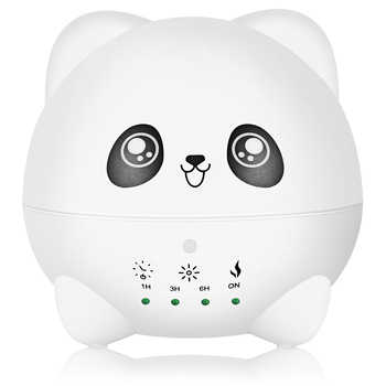 300ml Ultrasonic Oil Aroma Diffuser Air Humidifier With LED Lights Electric Aromatherapy Essential Panda Cartoon for Home Office - DISCOUNT ITEM  34% OFF All Category