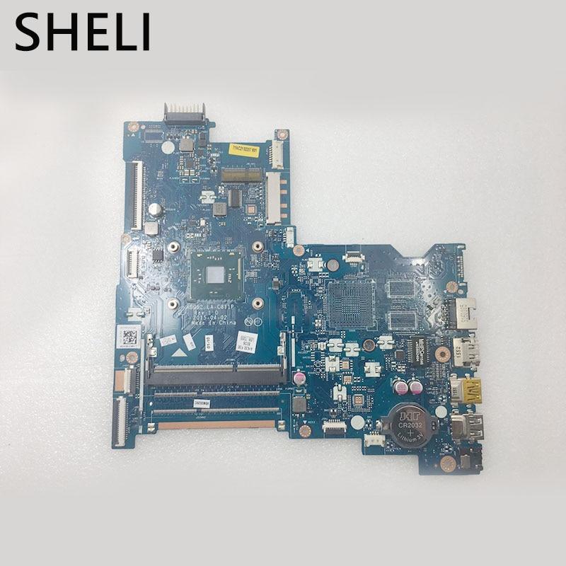 SHELI For HP  815248-501 815248-601 815248-001 15-AC Series Laptop Motherboard N3050 CPU LA-C811P