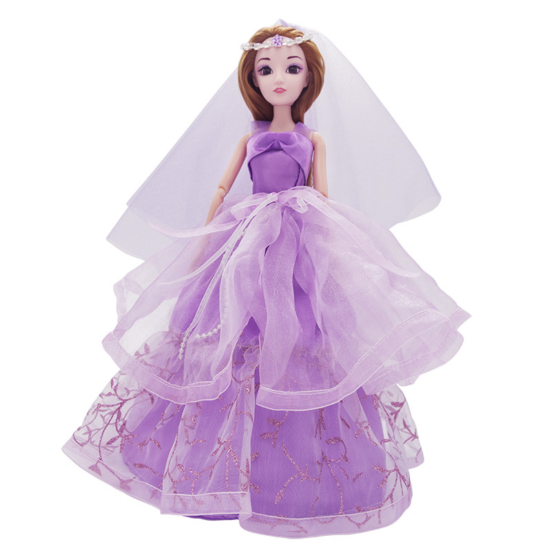 Baby Doll Pretty Party Wedding Dress Princess Dolls for Baby Girl Kids Birthday Gift Special Price Fashion Baby Doll