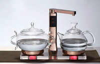 Glass electric kettle boiling tea ware fully automatic health raising pot art furnace Safety Auto Off Function