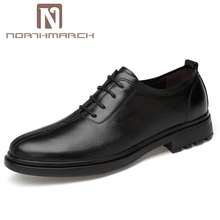 NORTHMARCH Mens Dress Shoes Luxury Brand Genuine Leather Men Big Size Business Sapatos Social Zapatos Hombre Formal