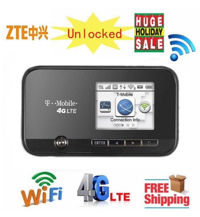 ZTE MF96 4G LTE Mobile WiFI routeur hotspot 3g 1900 FDD bande 4 AWS poche mifi 4g clé wi-fi