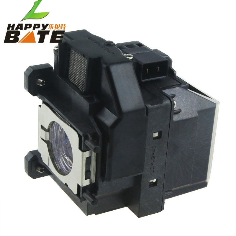 HAPPYBATE ELPLP67/V13H010L67 Projector lamp with Housing for EB-W16 EB-W16SK EB-X02 EB-X11 X11H X12 X14 X15 TW480,TW550,EX3210