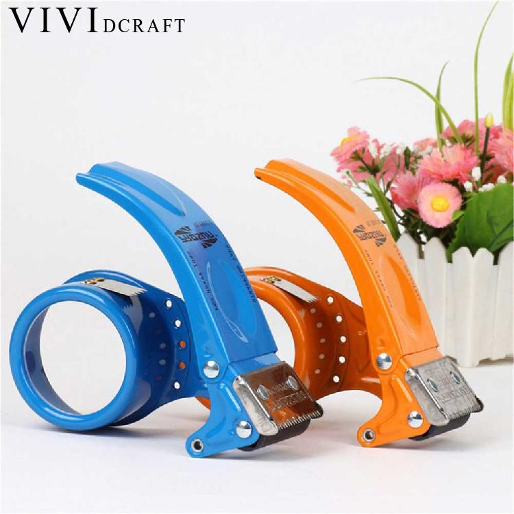 Vividcraft Metal Mini Hand-held Washi Tape Dispenser Tape Cutter Machine Scotch Tape Dispenser Sealing Machine Office Supplies waterproof seam sealing tape roll satellite self amalgamating rubber sealing tape sealing cable repair lead