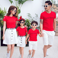 2019 Family Matching Clothes Outfits Mom Daughter Clothes Baby Girl/boy Clothes Mom/father And Son/dauther Matching Clothes 8 10