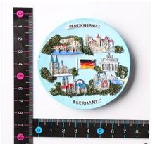 Germany Features travel fridge stickers