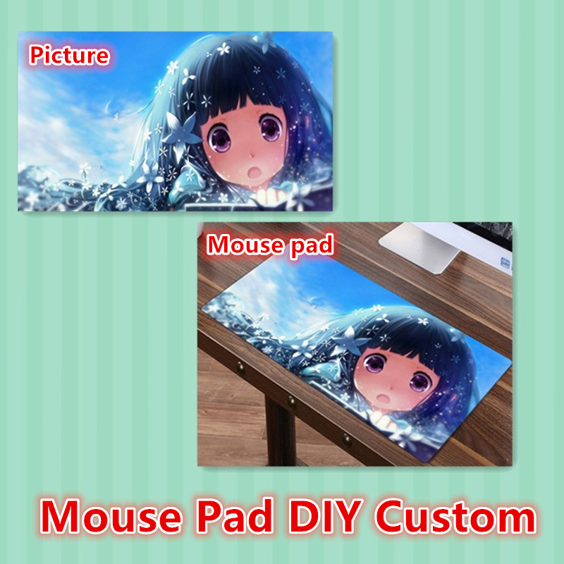 FFFAS DIY Custom Mouse Pad XL Super Large MousePad Gamer Gaming Playmat Japan Korea Anime Fashion Keyboard Mat Customized Made(China)