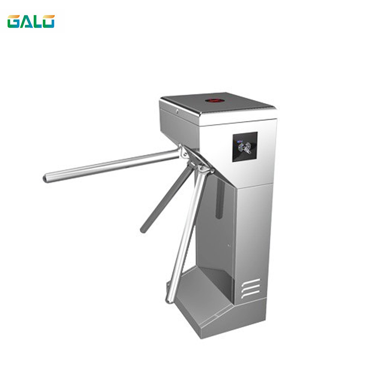 Electric Semi-automatic Tripod Revolving Door For Pedestrian Office Supermarket Shopping Mall Factory Park Community