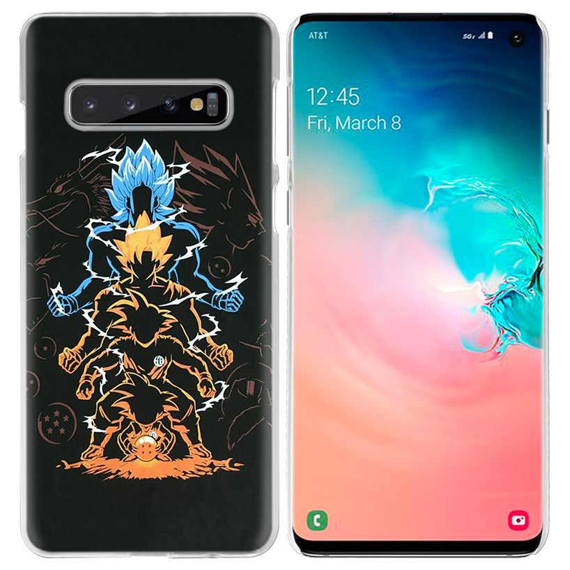 Anime Dragon Ball Truyện Tranh Ốp Lưng Dành Cho Samsung Galaxy Samsung Galaxy S10 S20 Ultra 5G S10e S9 S8 S7 J4 J6 Plus 2018 Note 10 8 9 PC Cứng Bao Bọc Điện Thoại