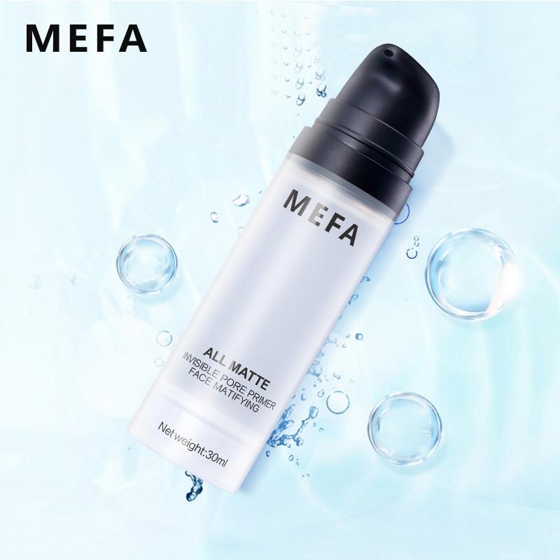 MEFA All Matte Invisible Pore Primer Face Matifying 30ML/Pcs Natural Matte Makeup Foundation Oil-control Professional Comestic