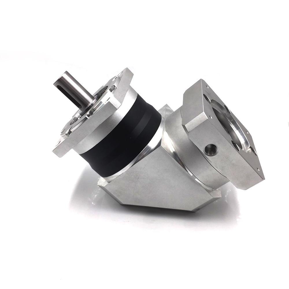 Hight Torque NEMA24 60mm Servo Right Angle Reducer, Speed ratio:12/16/20..70:1 High Precision Planetary Reducer Input Bore 14mmHight Torque NEMA24 60mm Servo Right Angle Reducer, Speed ratio:12/16/20..70:1 High Precision Planetary Reducer Input Bore 14mm