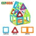 26 unids tamaño grande diseñador magnético bloques de construcción de juguetes magnéticos de construcción diy 3d ladrillos juguetes educativos para niños