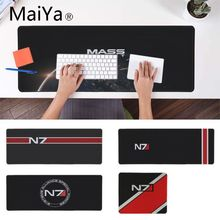 Maiya Mass Effect N7 игры логотип коврик для мышки игровой коврик для мыши игровой коврик для мышки с аниме Мышь коврик Скорость версия для Dota2 LOL