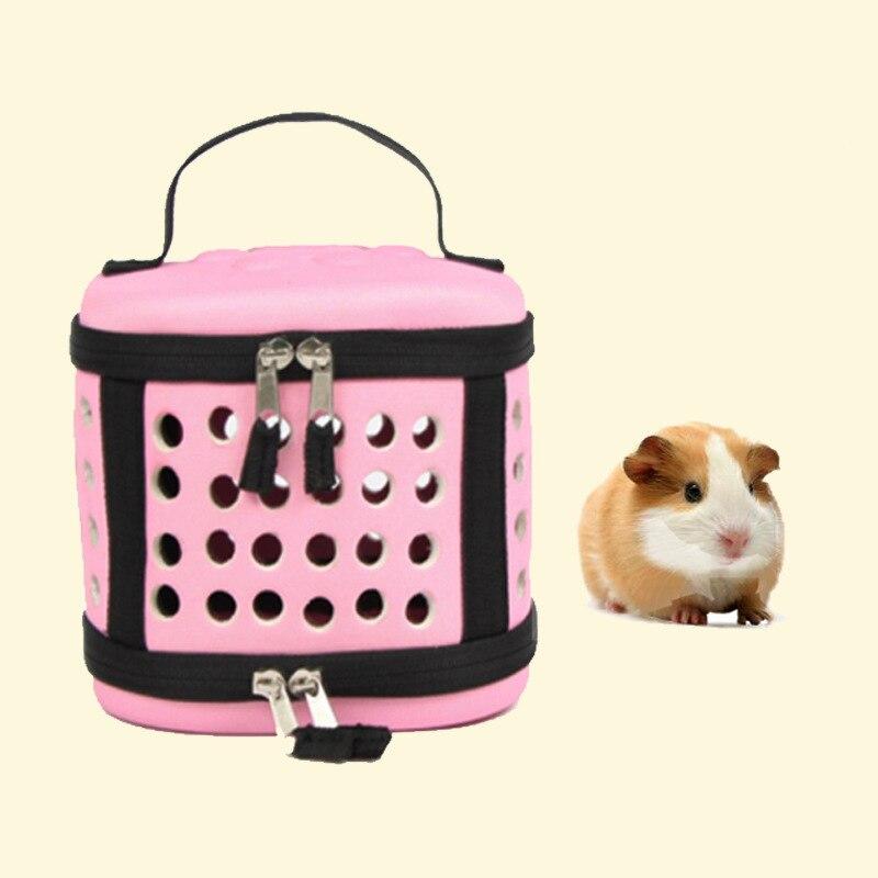 EVA Foldable Squirrel Hamster Carrier Bag Guinea Pig Travel Carry Bag Rat Hedgehog Chinchilla Hamster Bed House Nest