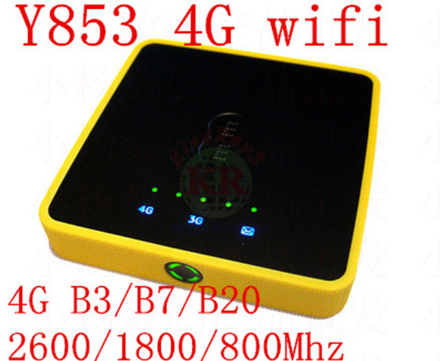 Unlocked Y853 4G Wifi Router Alcatel One Touch Y853 4G Mobile Hotspot 3g 4g dongle mfi pocket pk Y855 Y800 760S 762S e589 e3276 alcatel one touch pop d5 5038d fashion blue