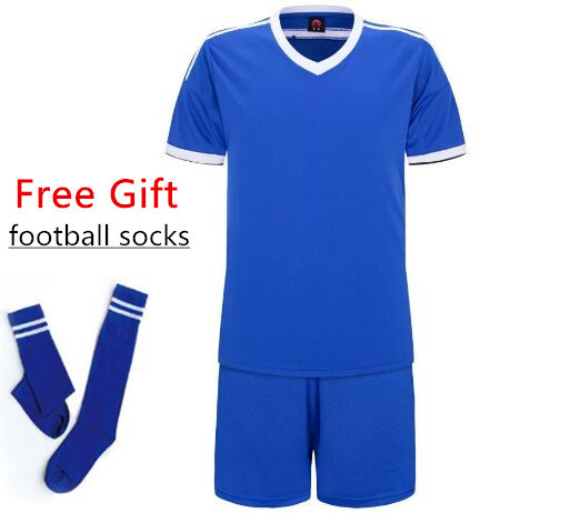 Новые детские футбольные майки для мальчиков, одежда для футбола, комплекты с короткими рукавами, Детская Футбольная форма, детский футбольный трикотажный костюмчик