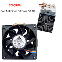 2018 New Arrival 7000RPM Cooling Pc Cpu Cooler 120 Mm Fan Replacement 4 Pin Connector For